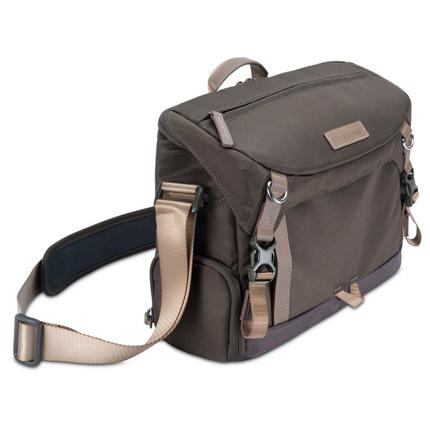 Vanguard VEO GO 34M KHAKI Shoulder Bag for Mirrorless Cameras with Internal Tri