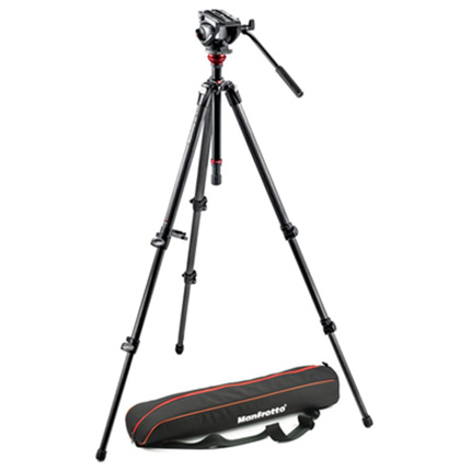 Manfrotto 500 Fluid Head with 755 Carbon Fibre Tripod