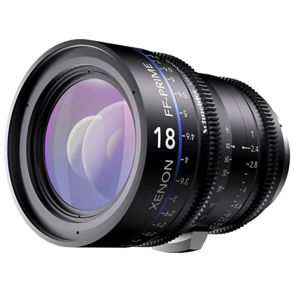 Schneider Xenon FF 18mm T2.4 Lens with PL Mount (Feet)