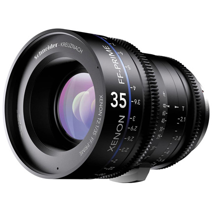 Schneider Xenon FF 35mm T2.1 Lens with Sony E Mount (Metres)