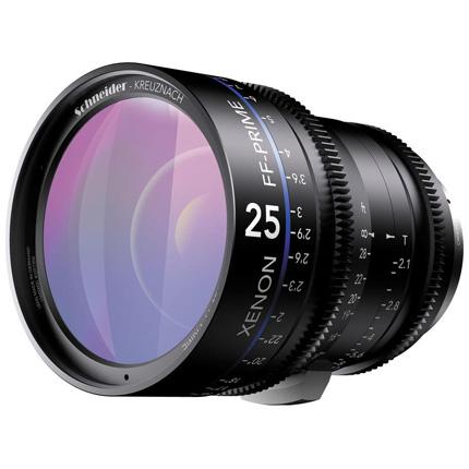 Schneider Xenon FF 25mm T2.1 Lens with Nikon F Mount (Feet)