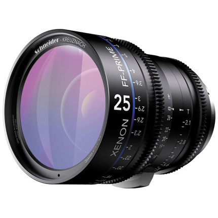 Schneider Xenon FF 25mm T2.1 Lens with PL Mount (Metres)