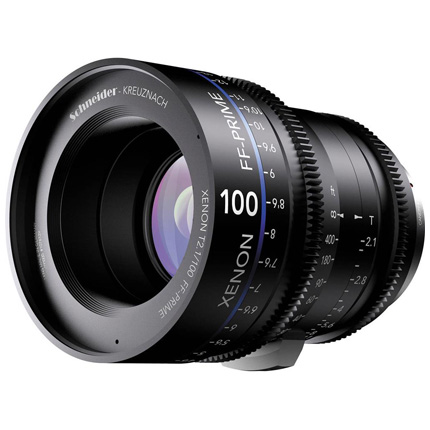 Schneider Xenon FF 100mm T2.1 Lens with PL Mount (Feet)