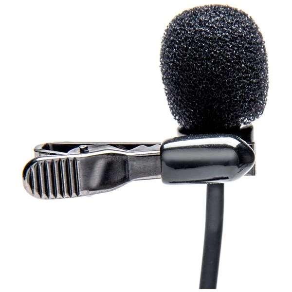 Azden EX-503+i Studio Pro Lapel Microphone For Smartphones And Tablets