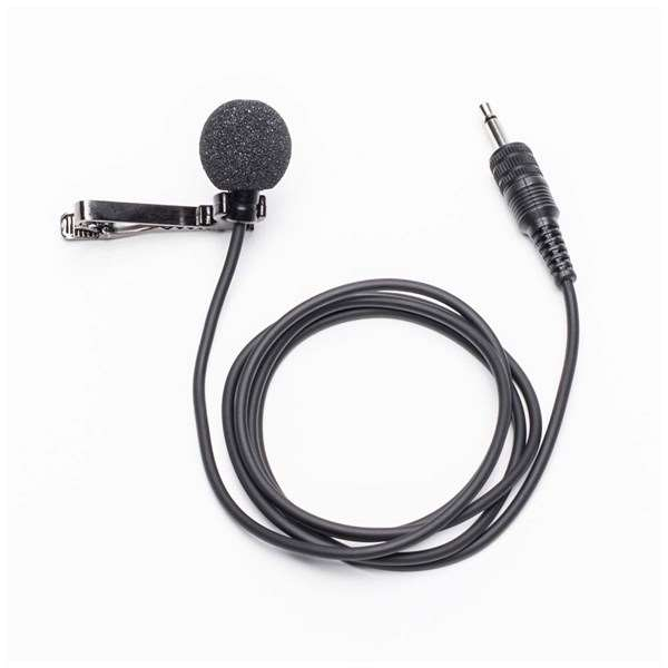 Azden EX-503L Omni-Directional Lapel Mic With Lock-Down Mini-Plug Output