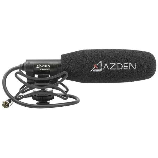 Azden SGM-250MX Professional Compact Cine Mic With Mini XLR