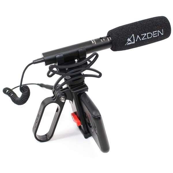 Azden SGM-990+i Zoom Shotgun Microphone for Cameras and Mobile Devices