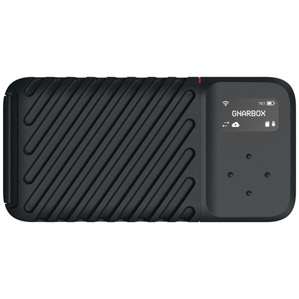 GNARBOX 2.0 SSD Rugged Backup Device (512GB)
