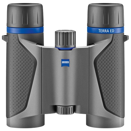 ZEISS Terra ED Pocket 8x25 Binocular - Grey/Black