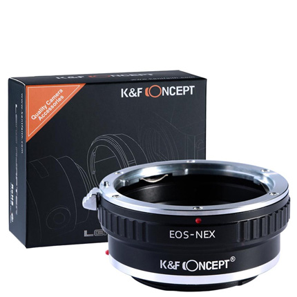 K&F Canon EF Lenses to Sony E Mount Camera Adapter