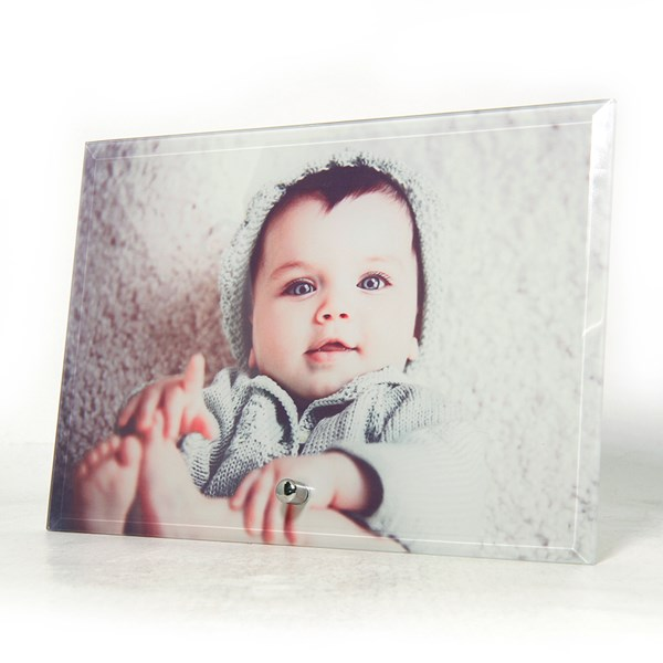 Instore - photo glass 5x7