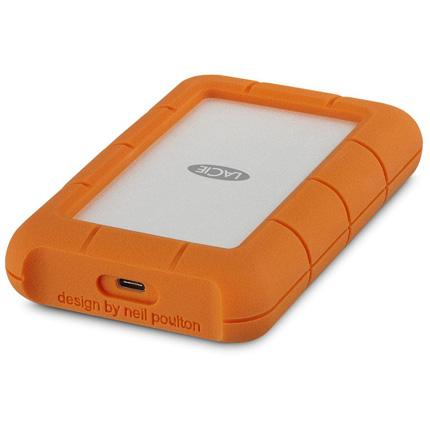 LaCie 4TB Rugged USB-C Portable Hard Drive