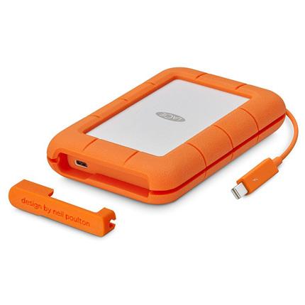 LaCie 1TB Rugged Thunderbolt & USB-C SSD Drive