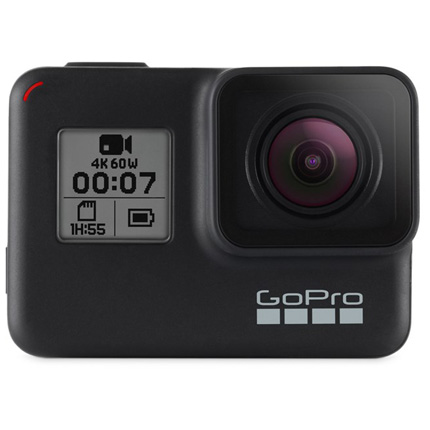 GoPro HERO7 Black 4k Action Camera with 32gb SD Card