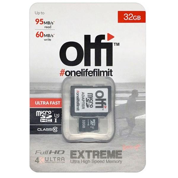 Olfi 32GB MicroSD Ultra Fast U3 95MB/s read, 90MB/s write