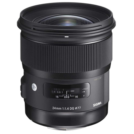 Sigma 24mm f/1.4 DG HSM Art Lens Sony E
