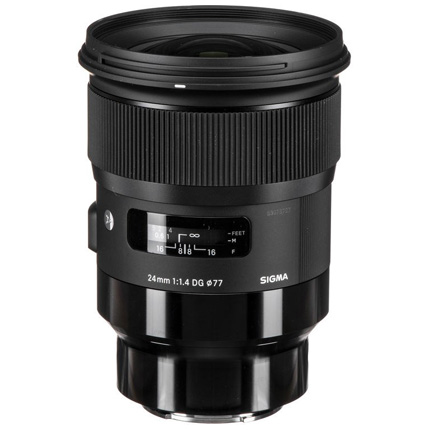 Sigma 24mm f/1.4 DG HSM Art Lens - L Mount