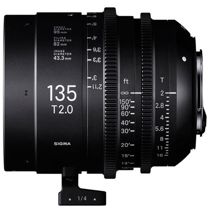 Sigma 135mm T2 FF High Speed Prime Cine Lens Sony E
