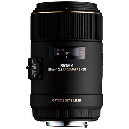 Sigma 105mm f/2.8 EX DG OS HSM Macro Lens Canon EF