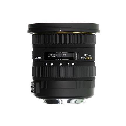 Sigma 10-20mm f/3.5 EX DC HSM Lens Nikon F