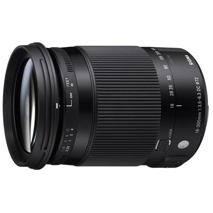Sigma 18-300mm f/3.5-6.3 DC Macro OS HSM Contemporary Lens Canon EF