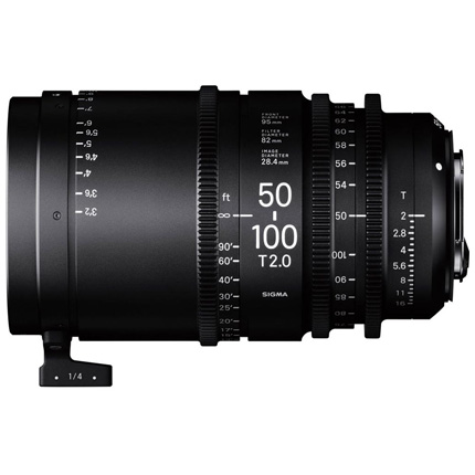 Sigma 50-100mm T2 High Speed Zoom Cine Lens Sony E