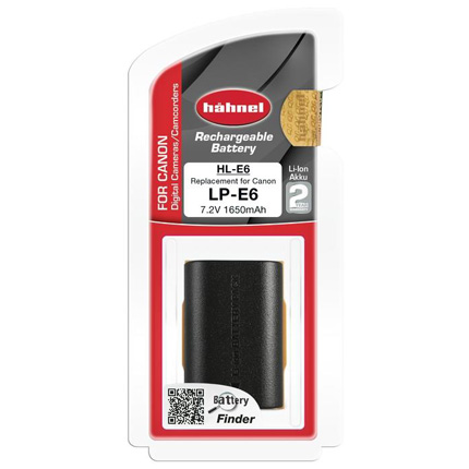 Hahnel HL-E6 Replacement for Canon LP-E6 Battery