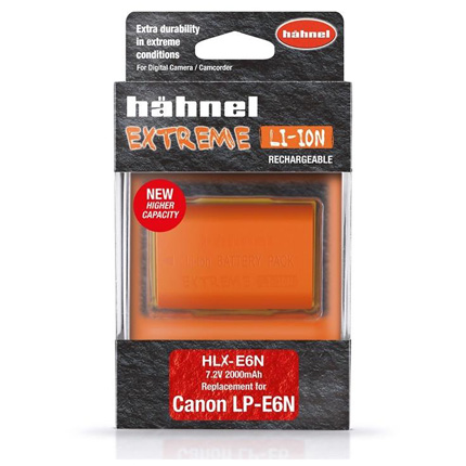 Hahnel Extreme HLX-E6N Battery Replacement for LP-E6/LP-E6N