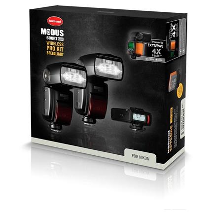 Hahnel Modus 600RT MKII Pro Flashgun Kit -Nikon