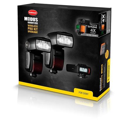 Hahnel Modus 600RT MKII Pro Flashgun Kit - Sony