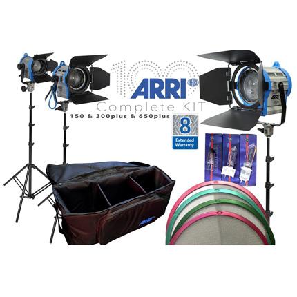 ARRI Entry 3 Point Lighting Kit