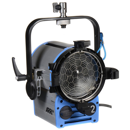 ARRI T2 True Blue Lamphead (Bare Ended)