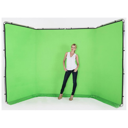 Lastolite 4m Panoramic Background Chromakey Green