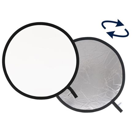 Lastolite Collapsible Reflector 50cm Silver/White LL LR2031