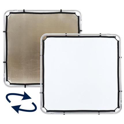 Lastolite Skylite Rapid Fabric Small 1.1 x 1.1m Sunfire/White - LL LR81106R