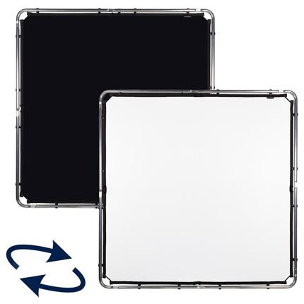 Lastolite Skylite Rapid Fabric Midi Black/White 1.5x1.5m - LL LR81521R