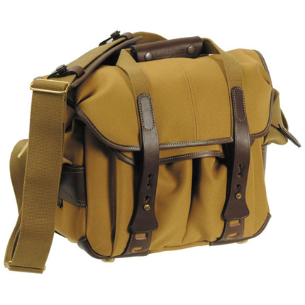 Billingham 207 Shoulder Bag - Khaki FibreNyte/Chocolate