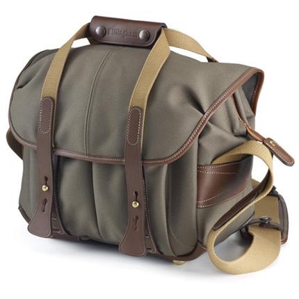 Billingham 207 Shoulder Bag - Sage FibreNyte/Chocolate