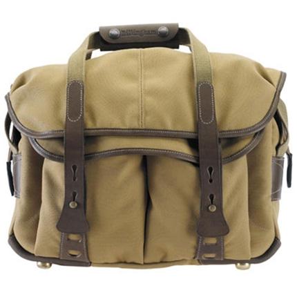 Billingham 307 Shoulder Bag - Khaki FibreNyte/Chocolate