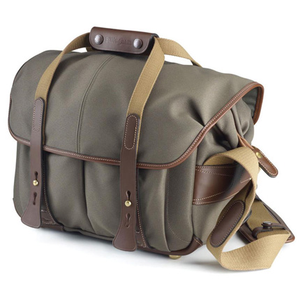 Billingham 307 Shoulder Bag - Sage FibreNyte/Chocolate