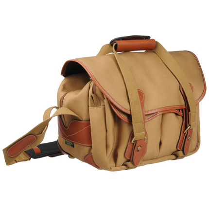 Billingham 225 Shoulder Bag - Khaki Canvas/Tan