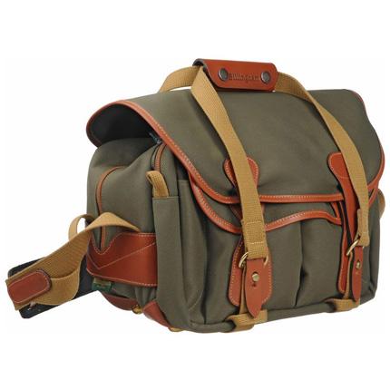 Billingham 225 Shoulder Bag - Sage FibreNyte/Tan