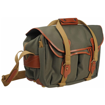 Billingham 335 Shoulder Bag - Sage FibreNyte/Tan