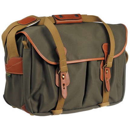 Billingham 445 Shoulder Bag - Sage FibreNyte/Tan