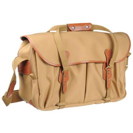 Billingham 555 Shoulder Bag - Khaki Canvas/Tan