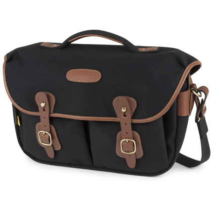 Billingham Hadley Pro 2020 Black Canvas/Tan