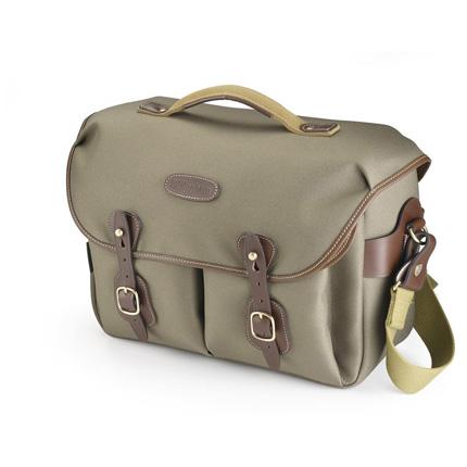 Billingham Hadley One Shoulder Bag - Sage FibreNyte/Chocolate