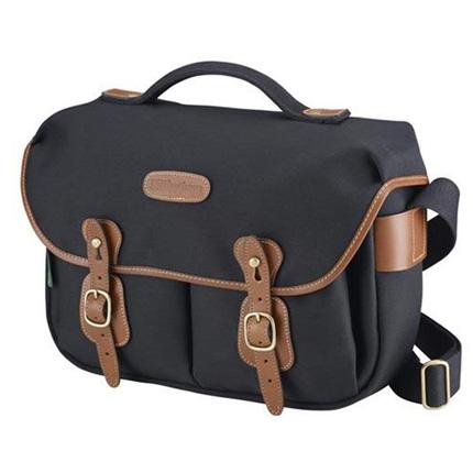 Billingham  Billingham Hadley Pro Original Shoulder Bag - Black Canvas/Tan