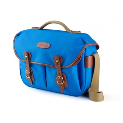 Billingham Hadley Pro Shoulder Bag -  Imperial Blue Canvas/Tan