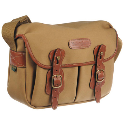 Billingham Hadley Small Shoulder Bag - Khaki Canvas/Tan